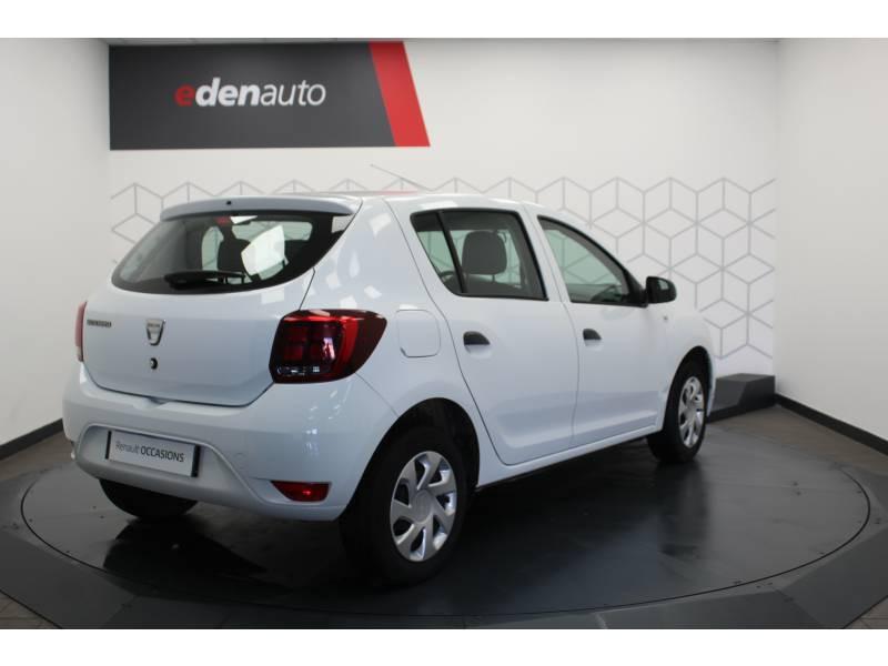 Dacia Sandero SCe 75 Ambiance Blanc occasion à DAX - photo n°17