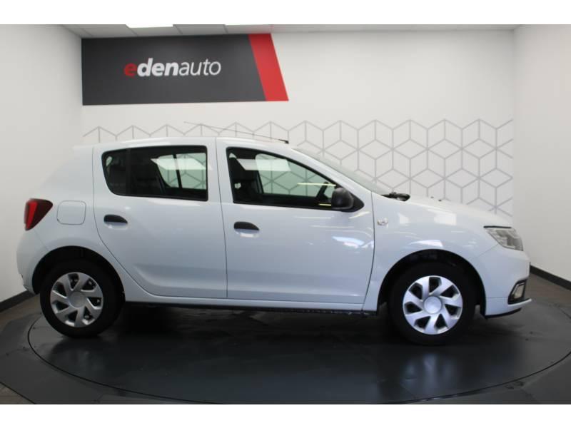 Dacia Sandero SCe 75 Ambiance Blanc occasion à DAX - photo n°16