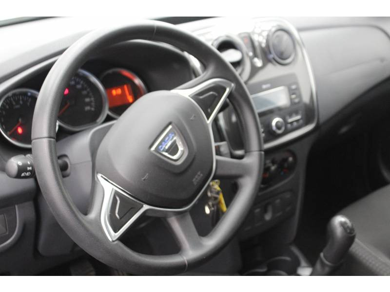 Dacia Sandero SCe 75 Ambiance Blanc occasion à DAX - photo n°9