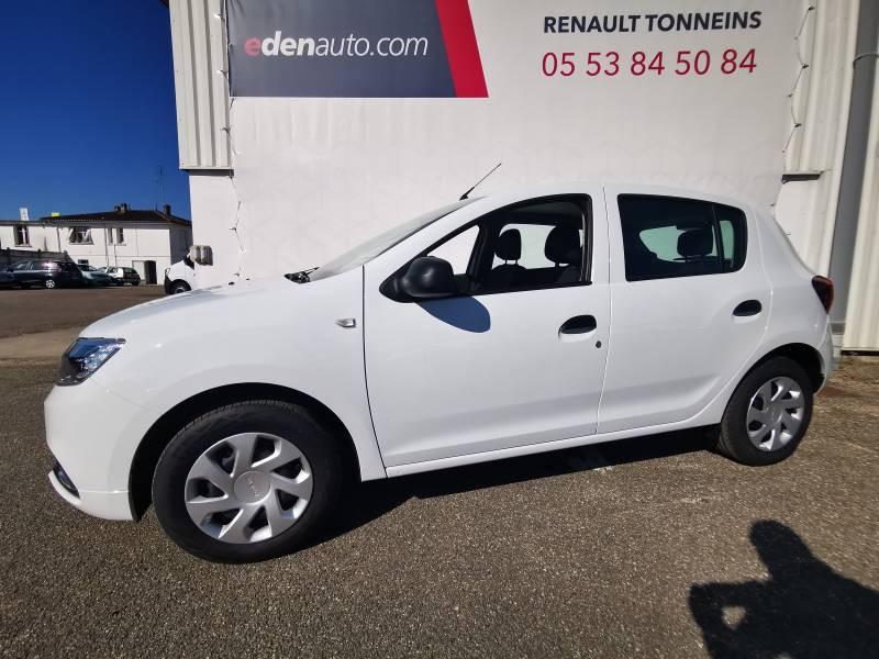Dacia Sandero TCe 90 Essentiel Blanc occasion à Sainte-Bazeille