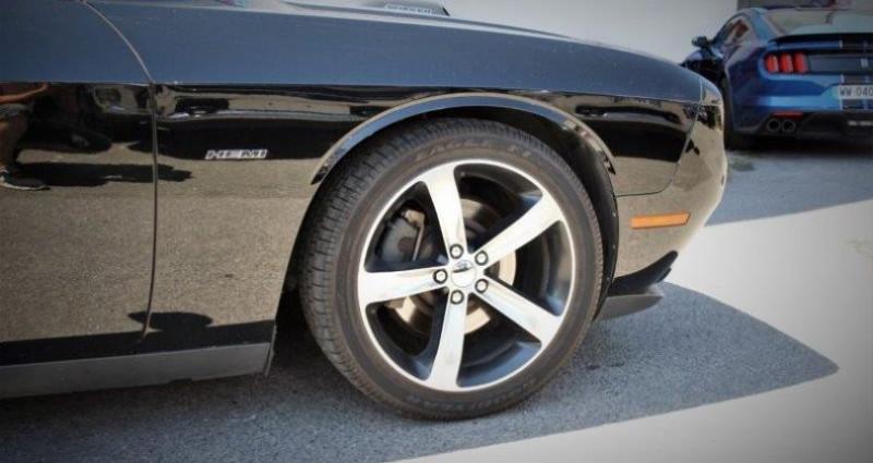 Dodge Challenger 2 R/t+ shaker v8 5.7l hemi fuel saver bva8 375hp Noir occasion à PONTAULT COMBAULT - photo n°2