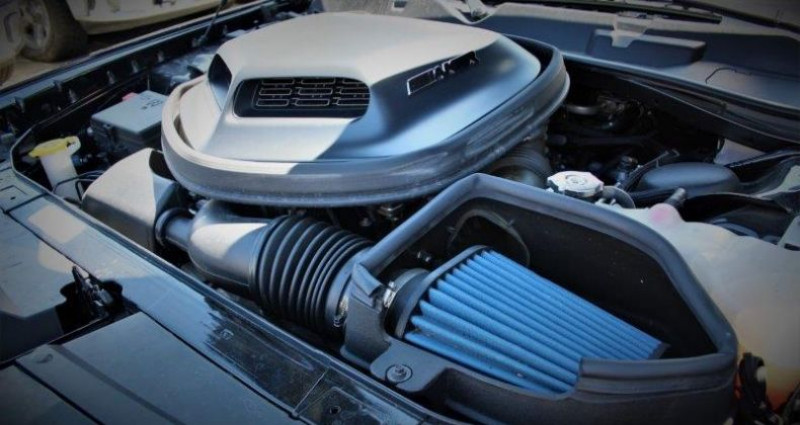 Dodge Challenger 2 R/t+ shaker v8 5.7l hemi fuel saver bva8 375hp Noir occasion à PONTAULT COMBAULT - photo n°7