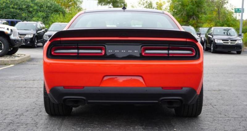 Dodge Challenger 2 Srt hellcat widebody v8 6.2l sc bva8 717hp Rouge occasion à PONTAULT COMBAULT - photo n°5