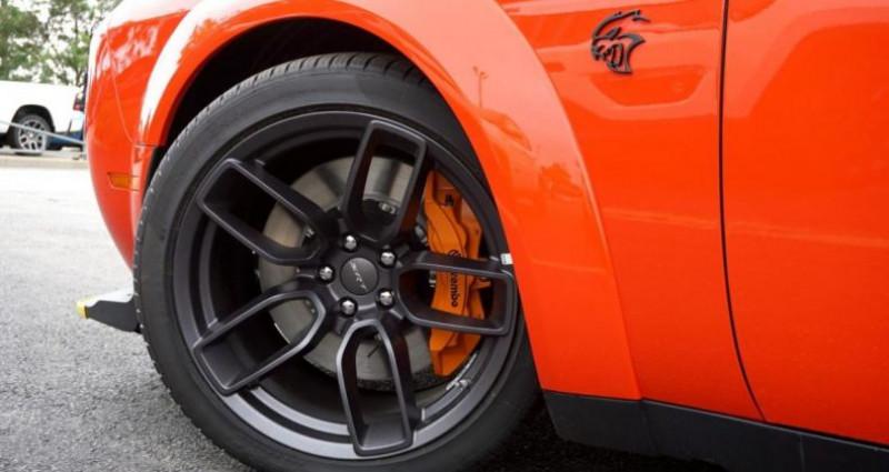 Dodge Challenger 2 Srt hellcat widebody v8 6.2l sc bva8 717hp Rouge occasion à PONTAULT COMBAULT - photo n°2