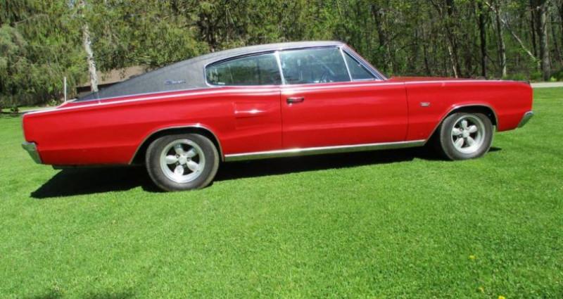 Dodge Charger 383 ci 1967 v8 prix tout compris Rouge occasion à PONTAULT COMBAULT - photo n°2