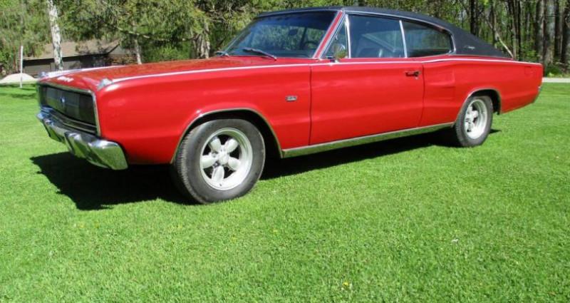 Dodge Charger 383 ci 1967 v8 prix tout compris Rouge occasion à PONTAULT COMBAULT