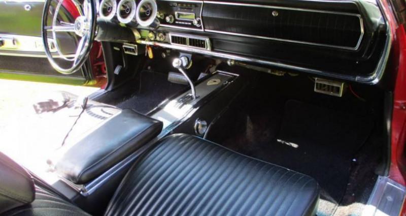 Dodge Charger 383 ci 1967 v8 prix tout compris Rouge occasion à PONTAULT COMBAULT - photo n°5