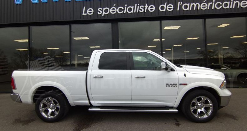 Dodge Ram CREW LARAMIE BENNE LONGUE 3.0 - V6 ECODIESEL 240CH Blanc occasion à Le Coudray-montceaux - photo n°7