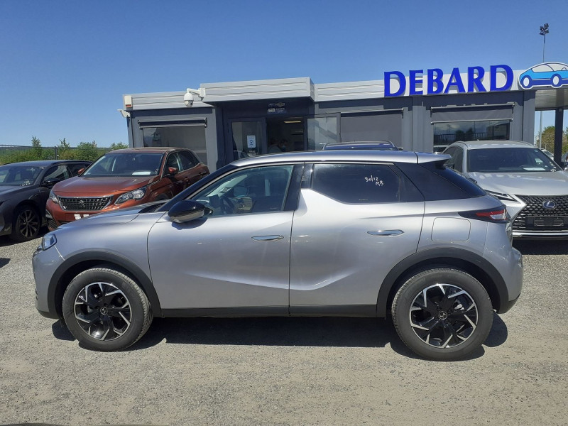 DS DS3 Crossback BLUEHDI 100CH SO CHIC Gris occasion à Ibos - photo n°2