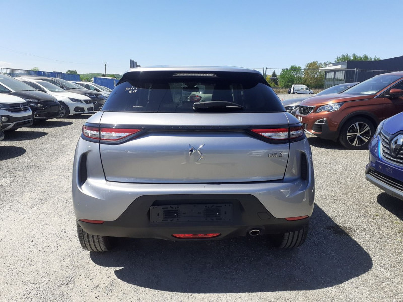DS DS3 Crossback BLUEHDI 100CH SO CHIC Gris occasion à Ibos - photo n°5