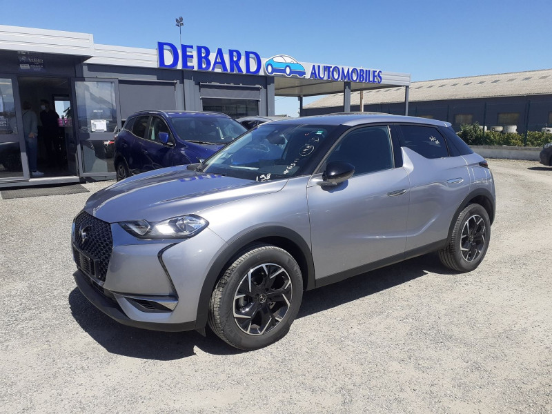 DS DS3 Crossback BLUEHDI 100CH SO CHIC Gris occasion à Ibos