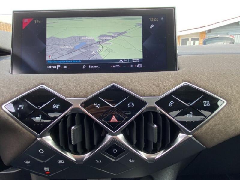 DS DS3 Crossback PURETECH 100 CV SO CHIC CUIR GPS Noir occasion à Biganos - photo n°5