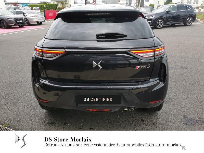 DS DS3 Crossback PureTech 130ch Performance Line Automatique Noir occasion à MORLAIX - photo n°5