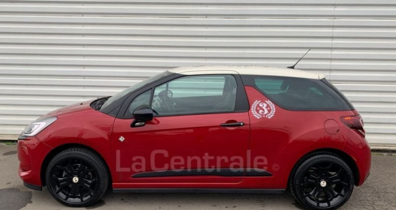 DS DS3 (2) 1.2 PURETECH 110 CAFE RACER AUTOMATIQUE Rouge occasion à Talange - photo n°2
