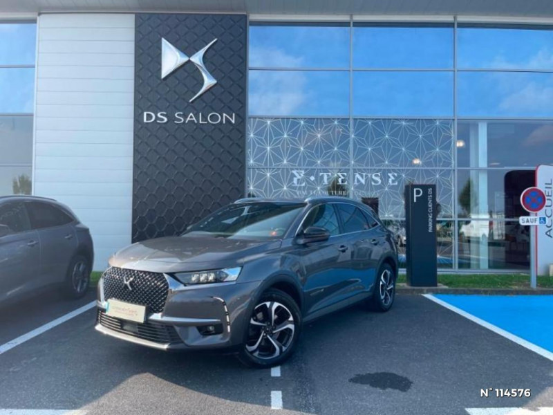 DS Ds7 crossback BlueHDi 180ch Executive Automatique 128g Gris occasion à Mareuil-lès-Meaux - photo n°2