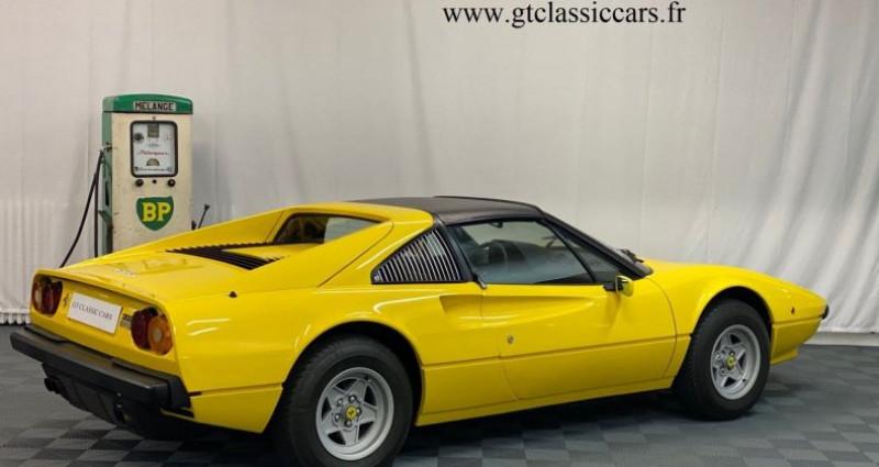 Ferrari 308 GTSi Jaune Jaune occasion à LA COUTURE BOUSSEY - photo n°4
