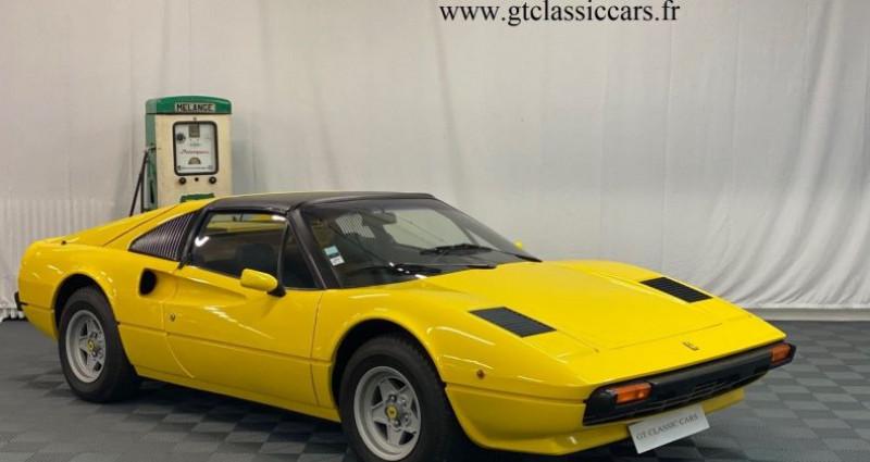 Ferrari 308 GTSi Jaune Jaune occasion à LA COUTURE BOUSSEY - photo n°3