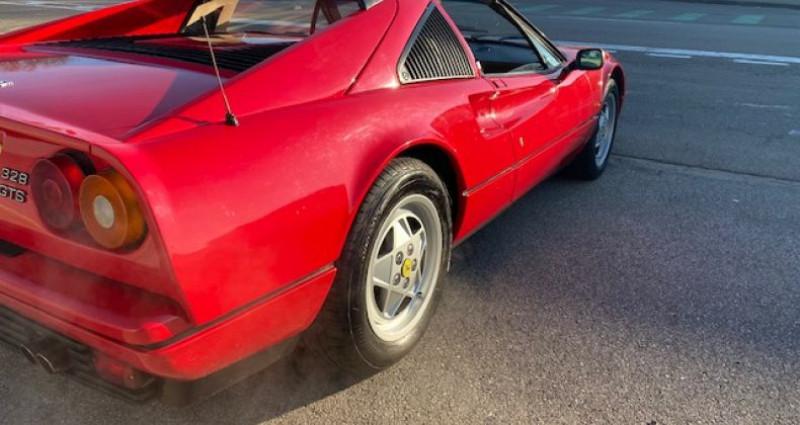 Ferrari 328 GTS Rouge occasion à DIJON - photo n°7