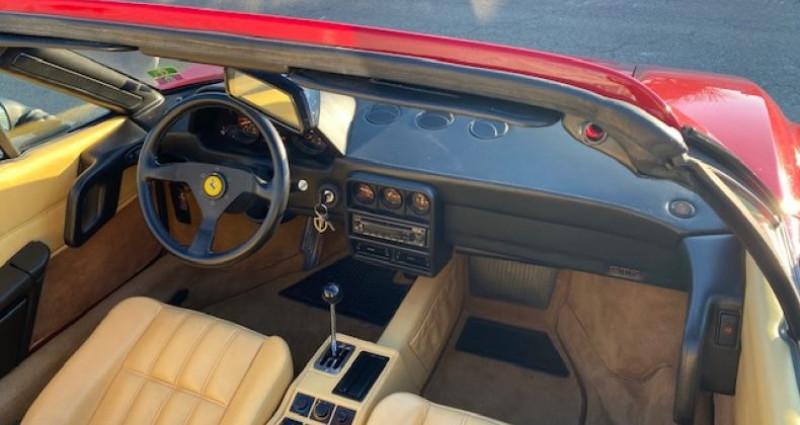 Ferrari 328 GTS Rouge occasion à DIJON - photo n°6