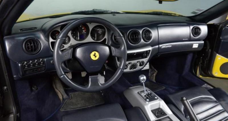 Ferrari 360 SPIDER BVM Jaune occasion à Paris - photo n°6