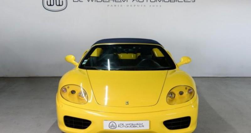 Ferrari 360 SPIDER BVM Jaune occasion à Paris - photo n°4