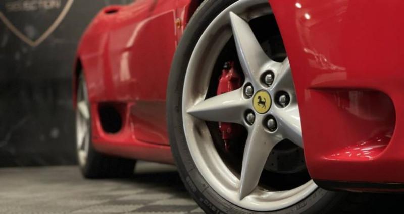 Ferrari 360 SPIDER F1 3.6 400 CH Rouge occasion à GUERANDE - photo n°5