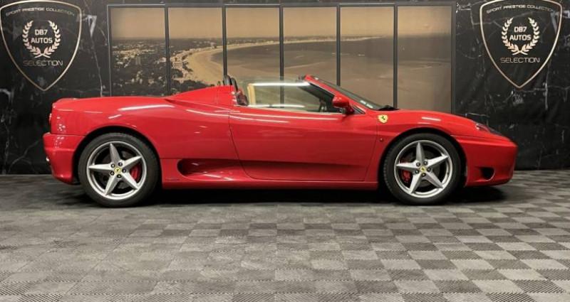 Ferrari 360 SPIDER F1 3.6 400 CH Rouge occasion à GUERANDE - photo n°2