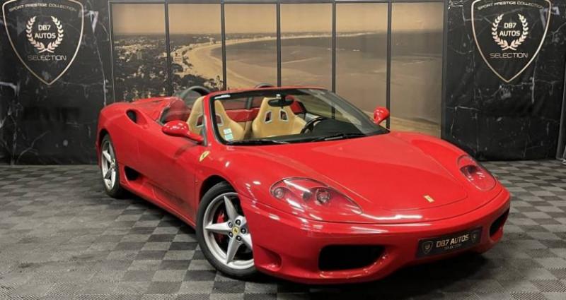 Ferrari 360 SPIDER F1 3.6 400 CH Rouge occasion à GUERANDE