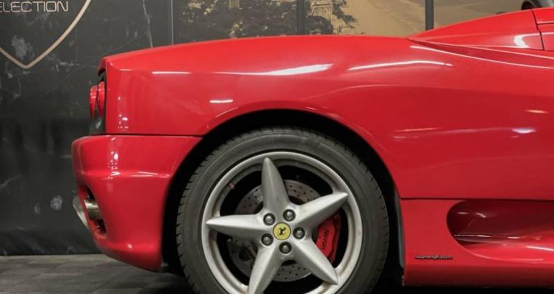Ferrari 360 SPIDER F1 3.6 400 CH Rouge occasion à GUERANDE - photo n°4