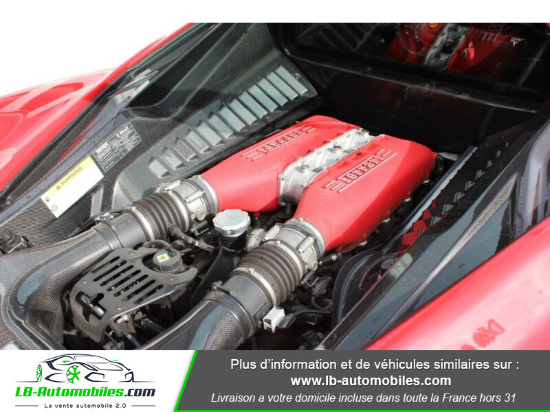 Ferrari 458 458 Italia Coupé Rouge occasion à Beaupuy - photo n°12