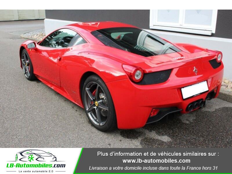 Ferrari 458 458 Italia Coupé Rouge occasion à Beaupuy - photo n°3