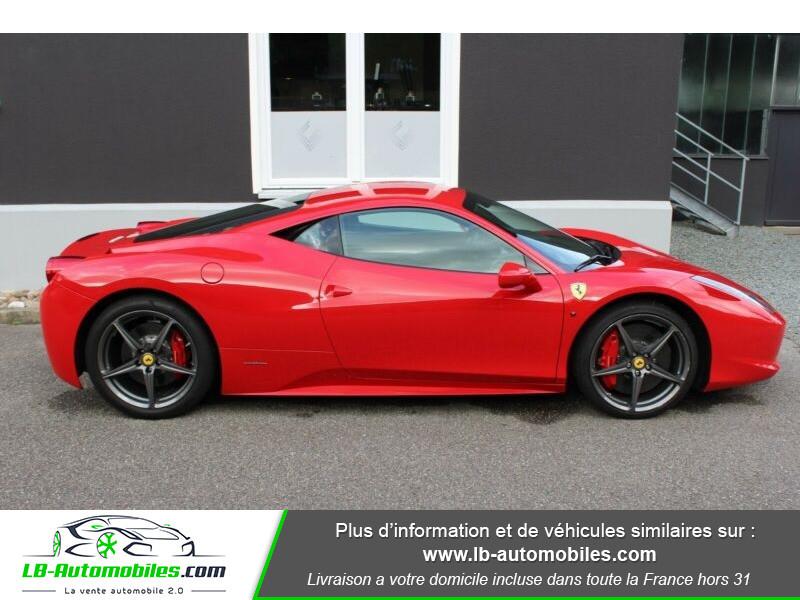 Ferrari 458 458 Italia Coupé Rouge occasion à Beaupuy - photo n°9