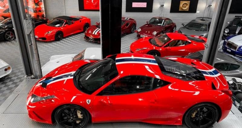 Ferrari 458 FERRARI 458 SPECIALE - PREMIERE MAIN FRANCAISE Rouge occasion à SAINT LAURENT DU VAR - photo n°2