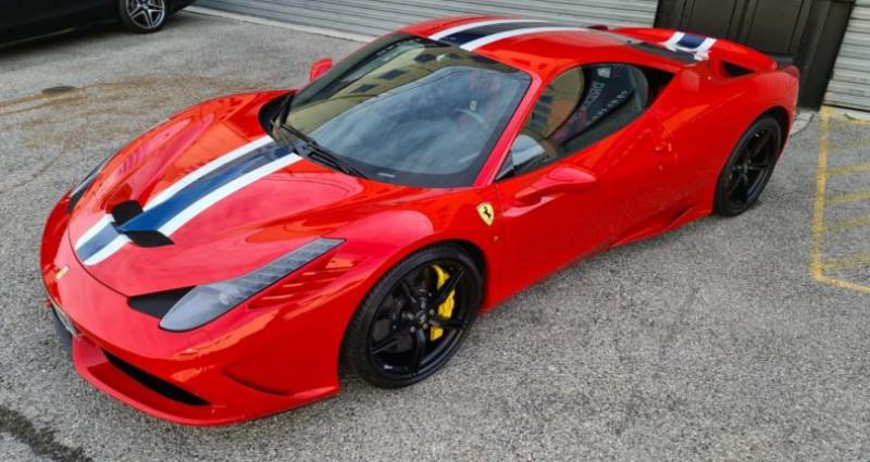 Ferrari 458 FERRARI 458 SPECIALE - PREMIERE MAIN FRANCAISE Rouge occasion à SAINT LAURENT DU VAR - photo n°5