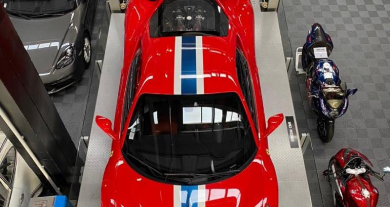 Ferrari 458 FERRARI 458 SPECIALE - PREMIERE MAIN FRANCAISE Rouge occasion à SAINT LAURENT DU VAR - photo n°3