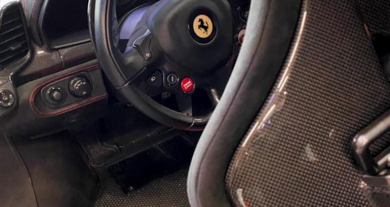 Ferrari 458 FERRARI 458 SPECIALE - PREMIERE MAIN FRANCAISE Rouge occasion à SAINT LAURENT DU VAR - photo n°7