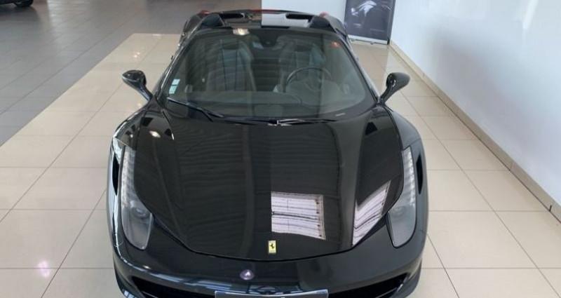 Ferrari 458 V8 4.5 SPIDER Noir occasion à Mommenheim - photo n°6