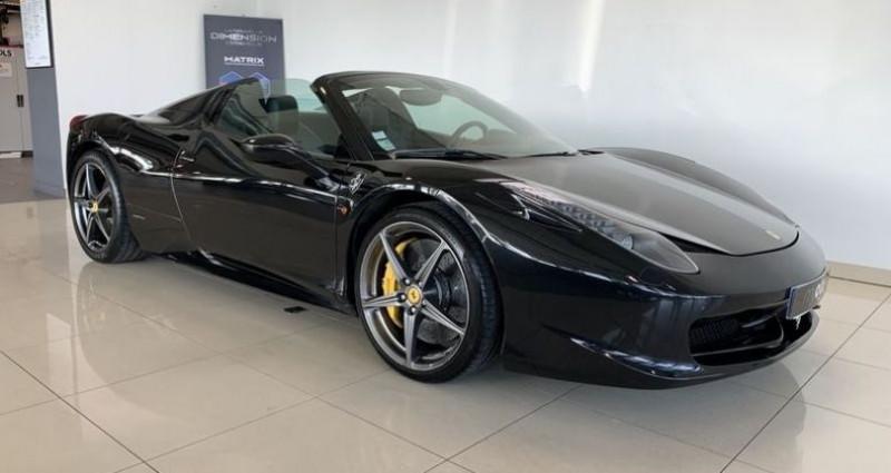 Ferrari 458 V8 4.5 SPIDER Noir occasion à Mommenheim