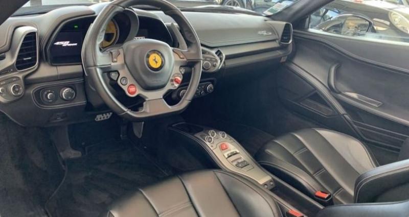 Ferrari 458 V8 4.5 SPIDER Noir occasion à Mommenheim - photo n°3