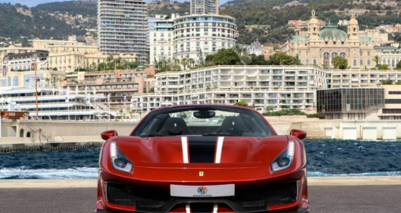 Ferrari 488 V8 3.9 T 720ch Pista  occasion à Monaco - photo n°2