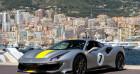 Ferrari 488 V8 3.9 T 720ch Argent à Monaco 98