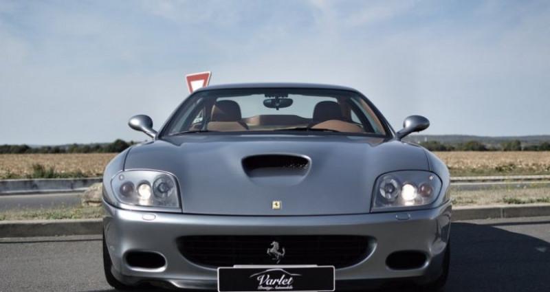 Ferrari 575M Maranello F1 Gris occasion à Ollainville - photo n°2
