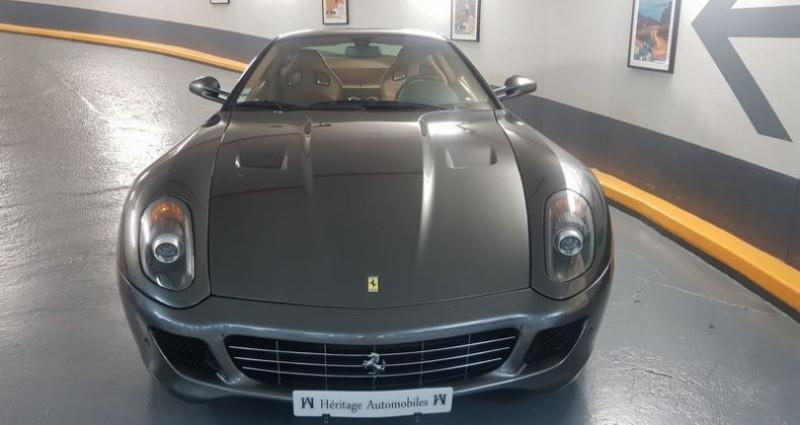 Ferrari 599 GTB F1 Vert occasion à Neuilly-sur-Seine - photo n°3