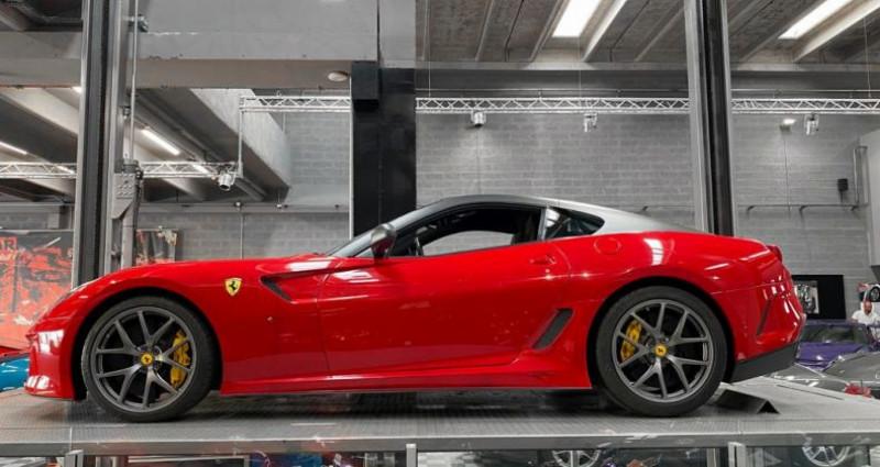 Ferrari 599 GTB FERRARI 599 GTO - PREMIERE MAIN FRANCAISE - TVA RECUPERABLE Rouge occasion à SAINT LAURENT DU VAR - photo n°2