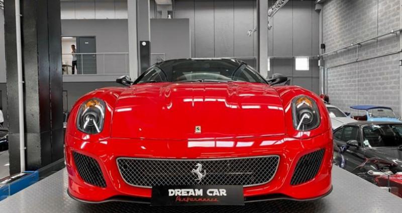 Ferrari 599 GTB FERRARI 599 GTO - PREMIERE MAIN FRANCAISE - TVA RECUPERABLE Rouge occasion à SAINT LAURENT DU VAR - photo n°5
