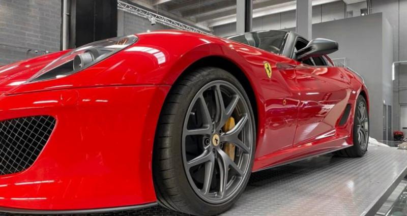 Ferrari 599 GTB FERRARI 599 GTO - PREMIERE MAIN FRANCAISE - TVA RECUPERABLE Rouge occasion à SAINT LAURENT DU VAR - photo n°7