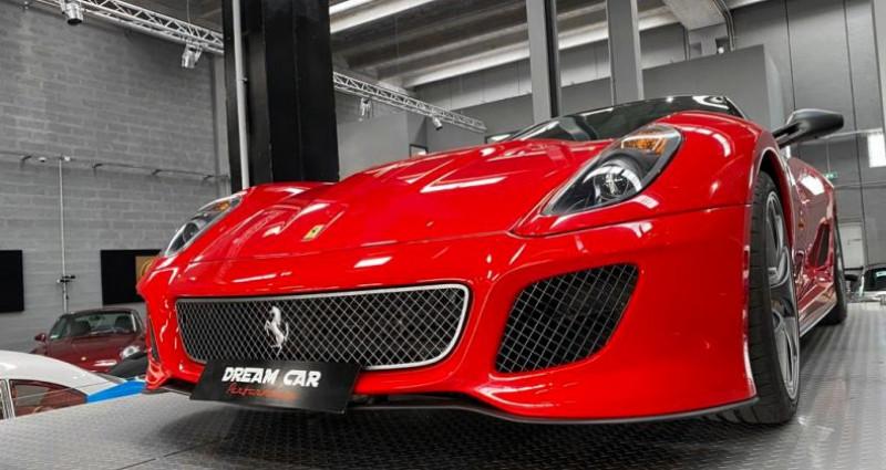 Ferrari 599 GTB FERRARI 599 GTO - PREMIERE MAIN FRANCAISE - TVA RECUPERABLE Rouge occasion à SAINT LAURENT DU VAR - photo n°6