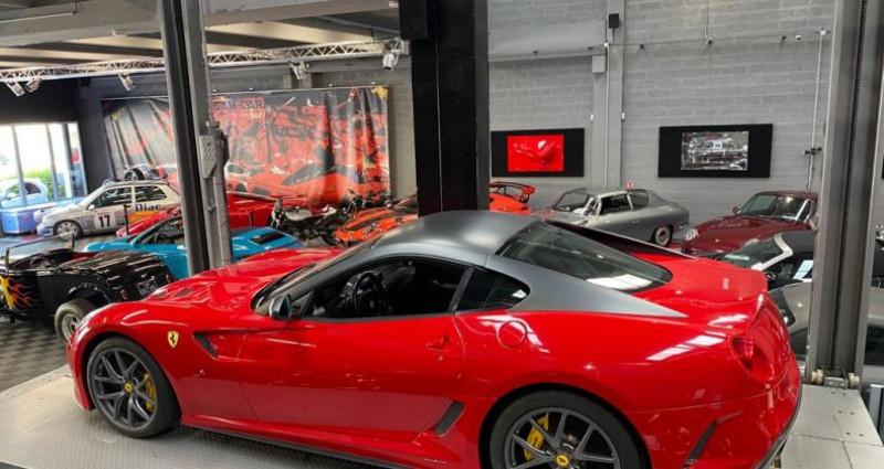 Ferrari 599 GTB FERRARI 599 GTO - PREMIERE MAIN FRANCAISE - TVA RECUPERABLE Rouge occasion à SAINT LAURENT DU VAR - photo n°3