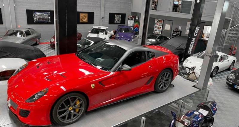 Ferrari 599 GTB FERRARI 599 GTO - PREMIERE MAIN FRANCAISE - TVA RECUPERABLE Rouge occasion à SAINT LAURENT DU VAR