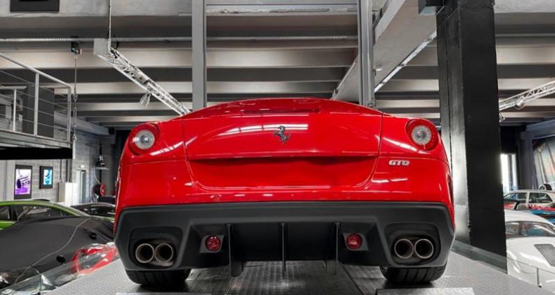 Ferrari 599 GTB FERRARI 599 GTO - PREMIERE MAIN FRANCAISE - TVA RECUPERABLE Rouge occasion à SAINT LAURENT DU VAR - photo n°4
